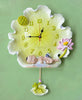 Beautiful Poly Creative Lotus Leaf Wall Clock for Home Decor 1