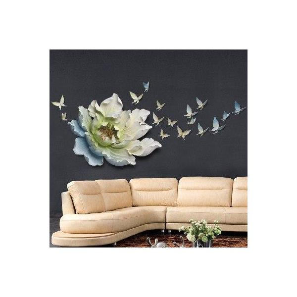 Flower+Butterfly wall decoration 5