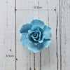 Ceramic flower three-dimensional wall decoration hanging wall decoration creative 9