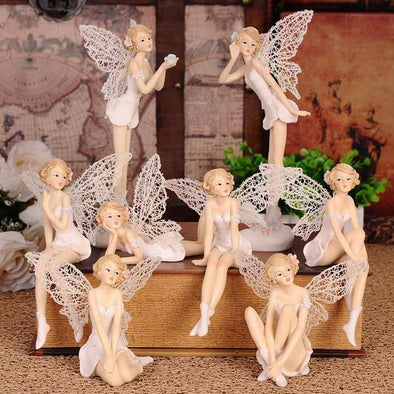 Angel Statue Flower Fairy Crafts Ornaments