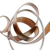 Circle and Ribbon Abstract Sculpture -  6