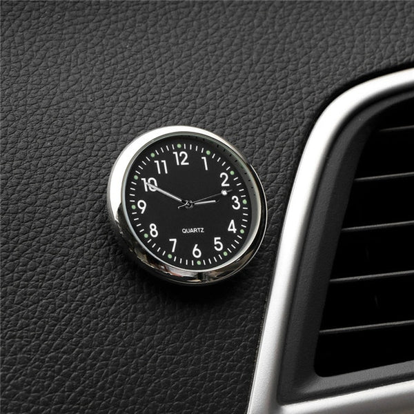 Mini Luminous Car Clock