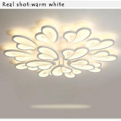 White Modern LED Ceiling Lights for Hall