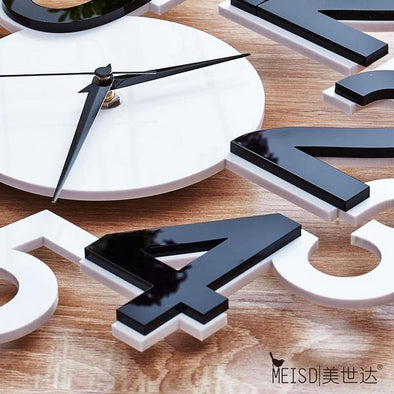 Designer Digital Clock - Large Wall Clocks ( Quartz )