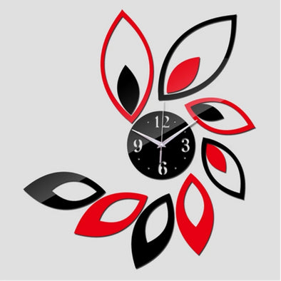3D Petals Wall Clocks