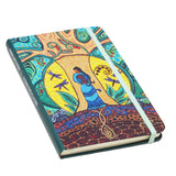 Hardcover Journal - Strong Earth Woman