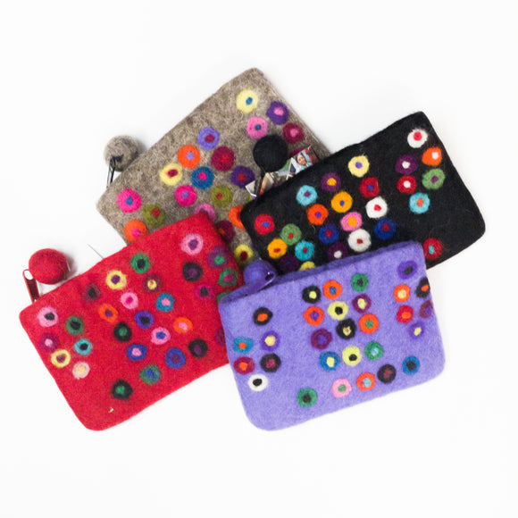 Polka Dot Mini Purse