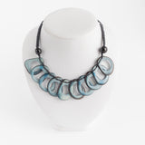 Tagua Hollow Slice Necklace