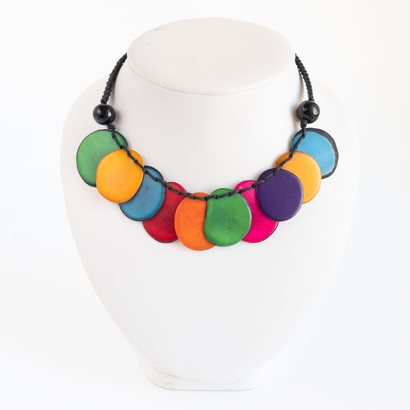 Tagua Slice Necklace