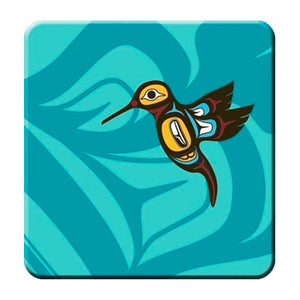 Coaster Set - Hummingbird