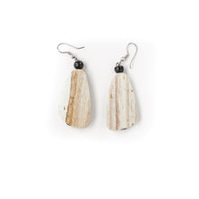 Long Shape Wooden Earring