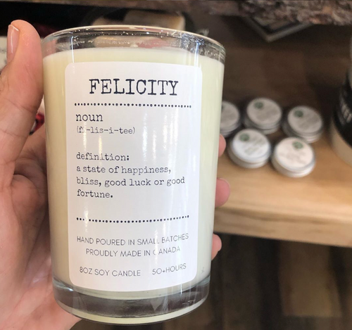 Just My Type Candles