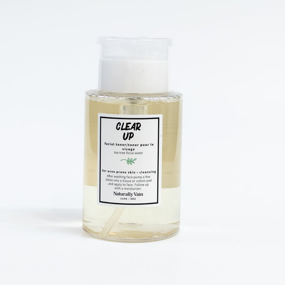 Naturally Vain Facial Toner - Clear Up