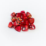 Tagua Chunky Rings Size 6-6.5