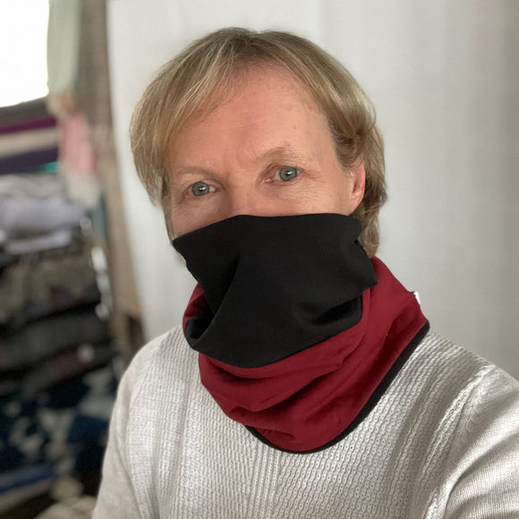 Fleece Lined Scarf/Mask
