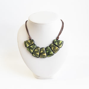 Tagua Resin Dipped Necklaces