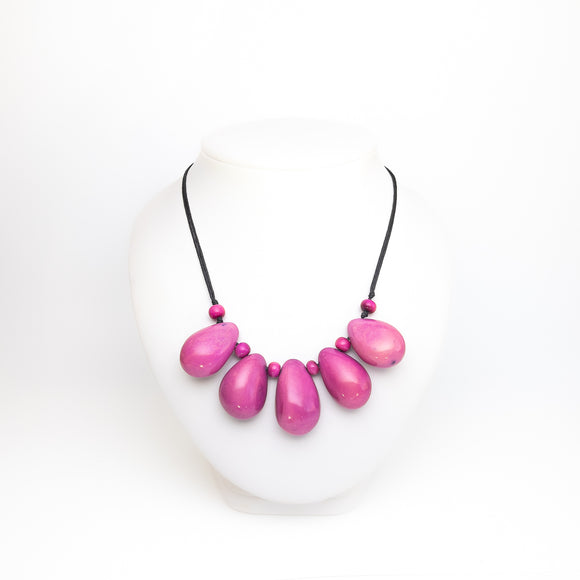 Tagua 5 Nut Necklace