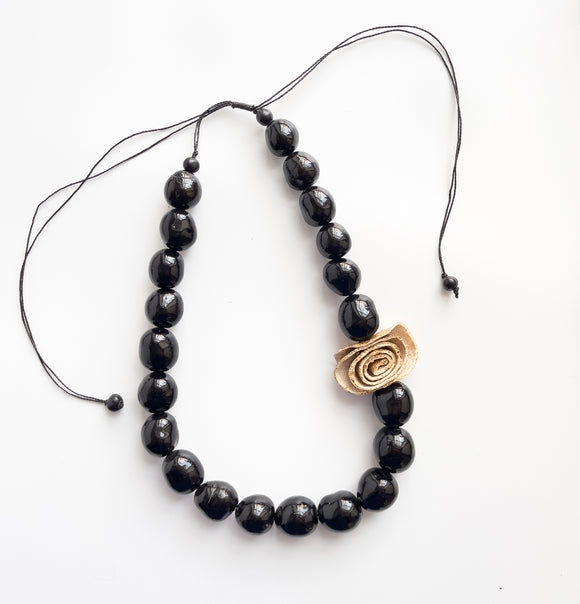 Bombona Seed and Peel Necklace