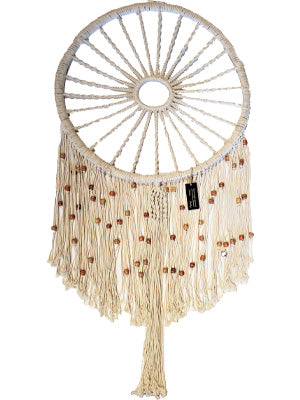 Macrame Dreamcatcher w/ beads
