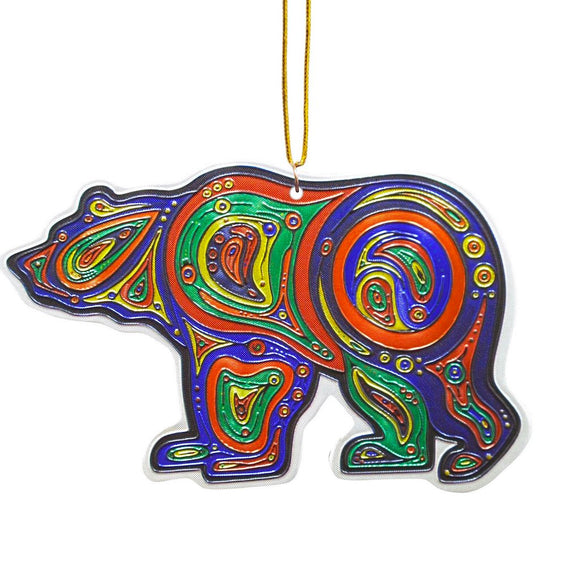 Metallic Ornament - Bear