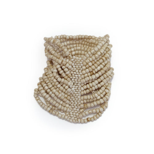 Elasticated Beaded Cuff