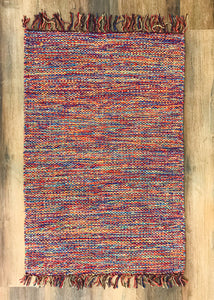 Fringed Accent Rugs - Small