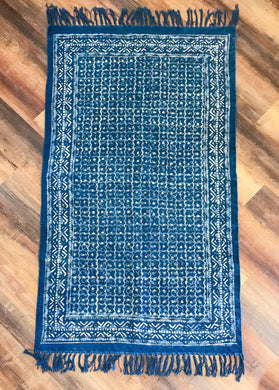 Indigo Blue Accent Rug