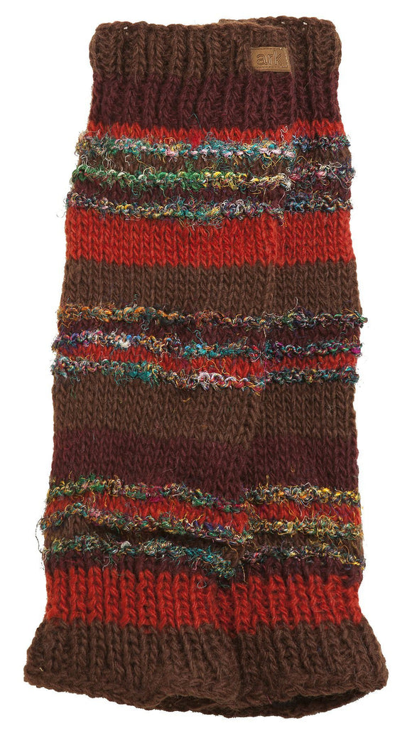 Swool Stripe Leg Warmers