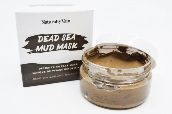 Naturally Vain Facial Mask - Dead Sea Mud