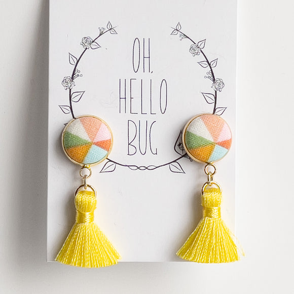 Oh Hello Bug Tassel Earrings