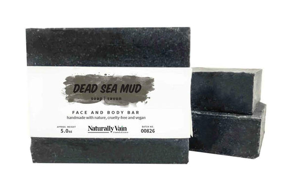 Naturally Vain Dead Sea Mud Soap