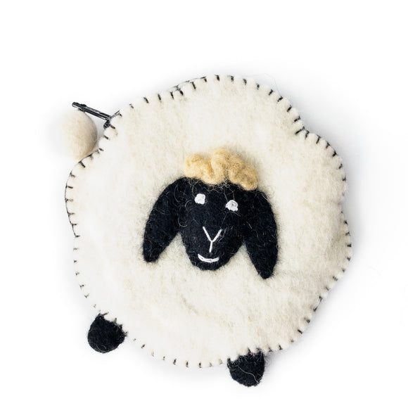 Little Lamb Playful Pouch