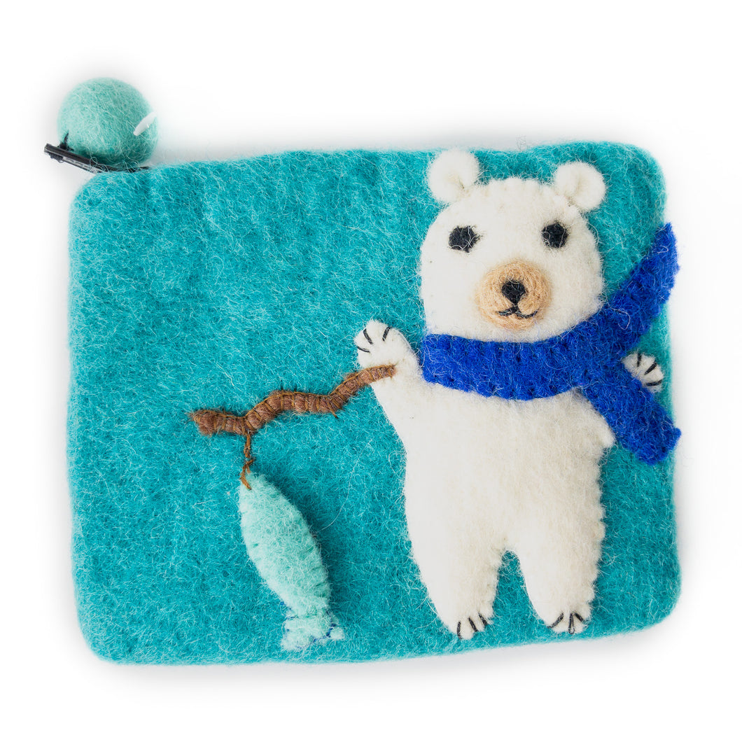 Gone Fishin' Playful Pouch