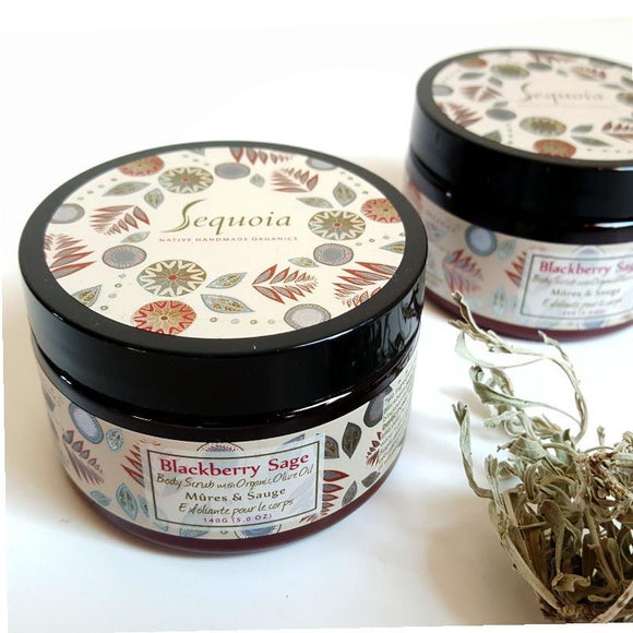 Sequoia Blackberry Sage Body Scrub