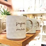 Stoneware Mug - Super Mom