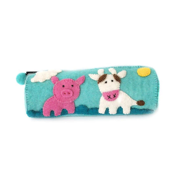 Pencil Purse - Pig & Cow