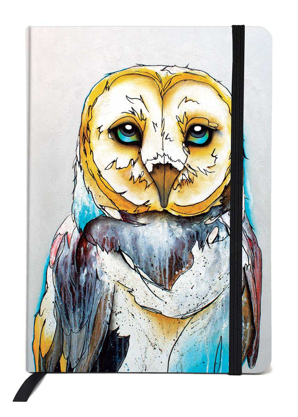 Indigenous Art Journal - Barn Owl