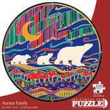 Indigenous Arts Puzzles 500 pieces round