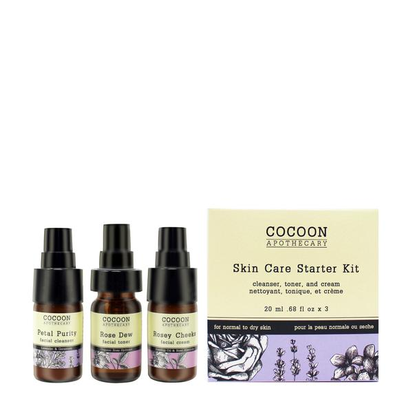 Skin Care Starter Kit for Normal to Dry Skin