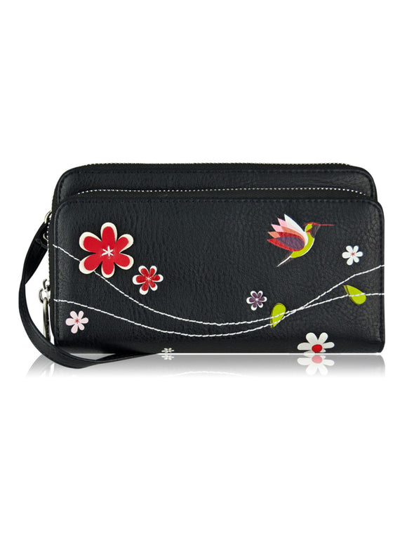 Libre Mini Black Wallet Purse