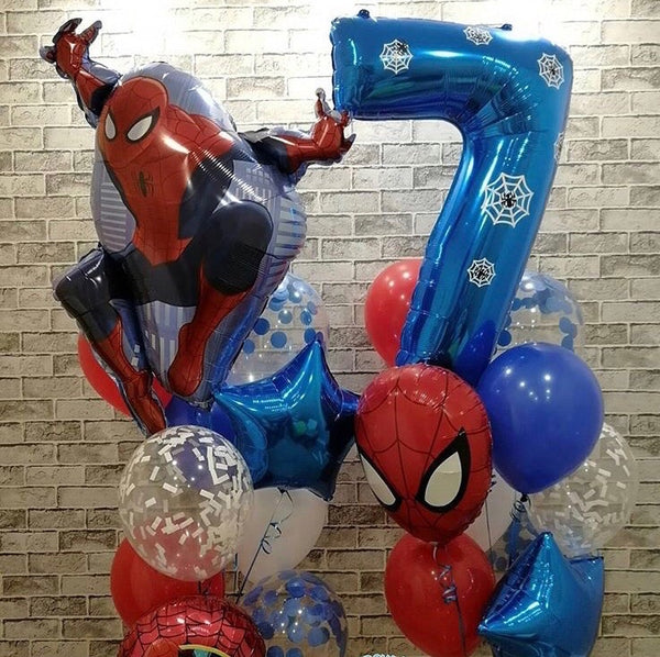 Spider man Balloon set