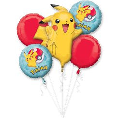 Pokémon balloon bouquet (no helium)