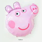 Peppa Pig head balloon