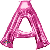 "letter A 34"" foil balloon all image colours available. ( No Helium )"