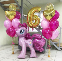 My little pony walk along balloon set