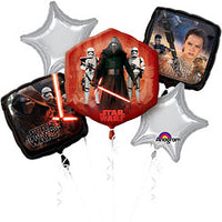 Star Wars balloon bouquet (no helium)