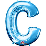 "Letter C 34"" foil balloon all image colours available. ( No Helium )"