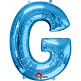 "Letter G 34"" foil balloon all image colours available. ( No Helium )"