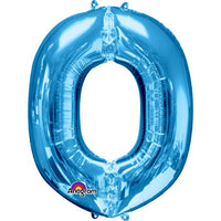"Letter O 34"" foil balloon all image colours available. ( No Helium )"