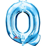 "Letter Q 34"" foil balloon all image colours available. ( No Helium )"